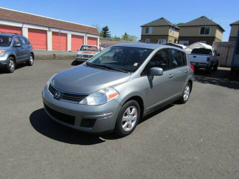 2008 Nissan Versa for sale at ARISTA CAR COMPANY LLC in Portland OR