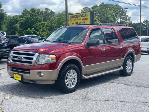 2014 Ford Expedition EL for sale at Luxury Cars of Atlanta in Snellville GA