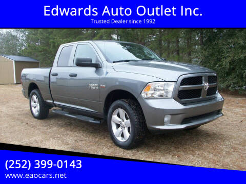 2013 RAM Ram Pickup 1500 for sale at Edwards Auto Outlet Inc. in Wilson NC