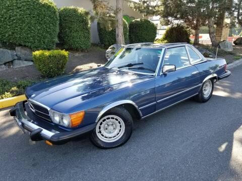 1980 Mercedes-Benz 450 SL for sale at SS MOTORS LLC in Edmonds WA
