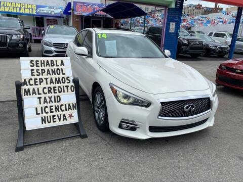 2014 Infiniti Q50 for sale at Cedano Auto Mall Inc in Bronx NY