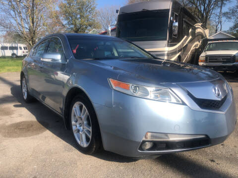 2009 Acura TL for sale at Creekside Automotive in Lexington NC