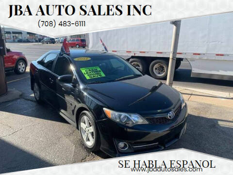 2012 Toyota Camry for sale at JBA Auto Sales Inc in Stone Park IL