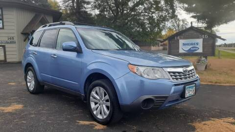 2011 Subaru Forester for sale at Shores Auto in Lakeland Shores MN