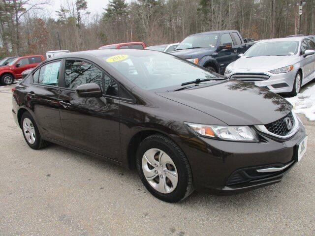 2014 Honda Civic for sale at MC FARLAND FORD in Exeter NH