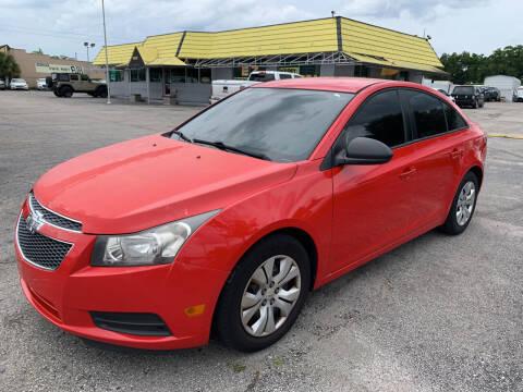 2014 Chevrolet Cruze for sale at Castle Used Cars in Jacksonville FL