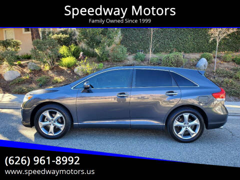 2009 Toyota Venza for sale at Speedway Motors in Glendora CA