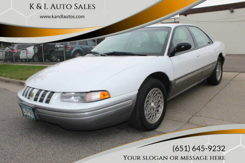 1995 Chrysler Concorde for sale at K & L Auto Sales in Saint Paul MN