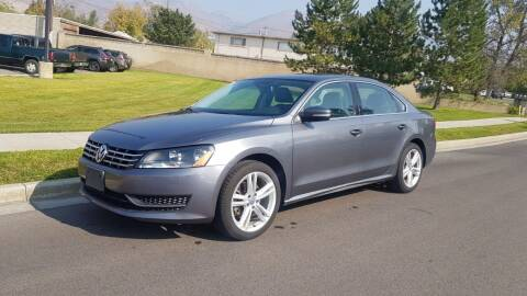 2014 Volkswagen Passat for sale at A.I. Monroe Auto Sales in Bountiful UT
