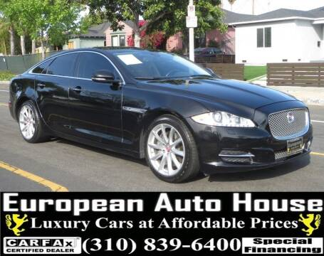 2015 Jaguar XJ for sale at European Auto House in Los Angeles CA