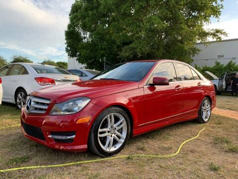 2013 Mercedes-Benz C-Class for sale at Florida Automobile Outlet in Miami FL