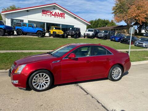 2010 Cadillac CTS for sale at Efkamp Auto Sales LLC in Des Moines IA