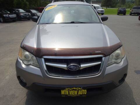 2009 Subaru Outback for sale at MOUNTAIN VIEW AUTO in Lyndonville VT