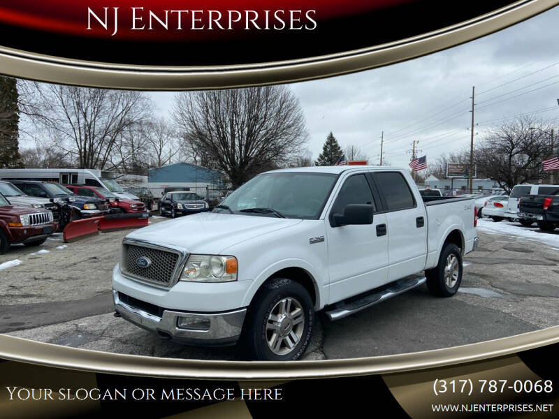 2005 Ford F-150 for sale at NJ Enterprises in Indianapolis IN