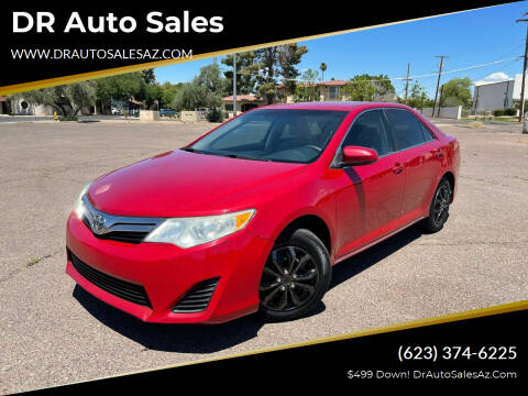 2012 Toyota Camry for sale at DR Auto Sales in Glendale AZ