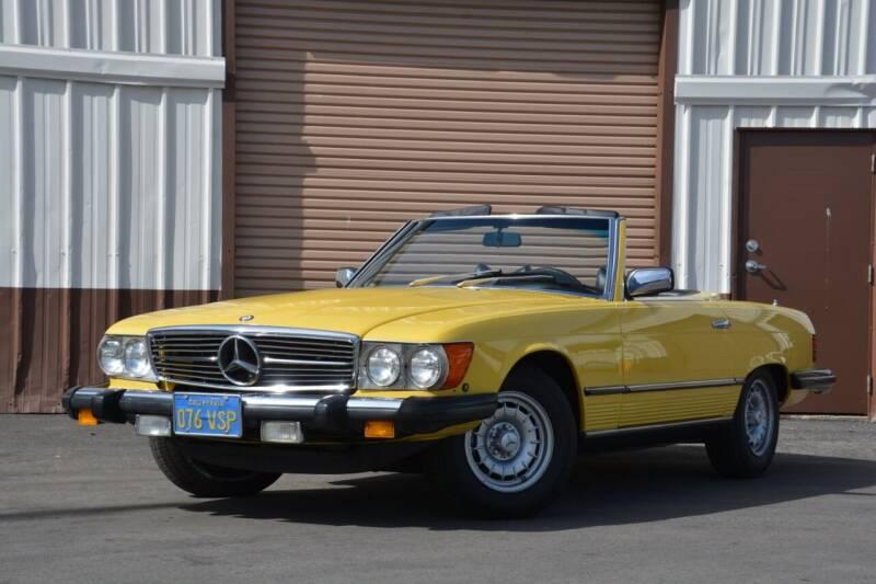 1978 Mercedes-Benz 450 SL for sale at Milpas Motors in Santa Barbara CA