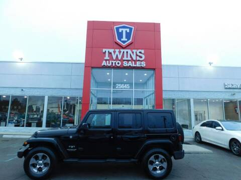 2017 Jeep Wrangler Unlimited for sale at Twins Auto Sales Inc Redford 1 in Redford MI