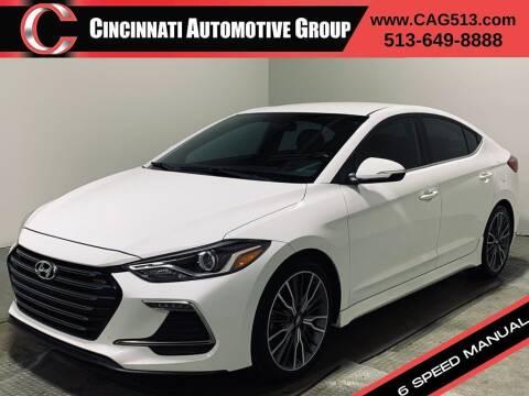 2017 Hyundai Elantra for sale at Cincinnati Automotive Group in Lebanon OH