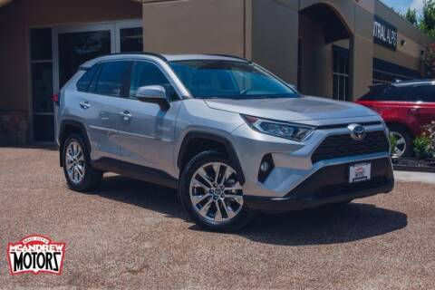 2021 Toyota RAV4 for sale at Mcandrew Motors in Arlington TX