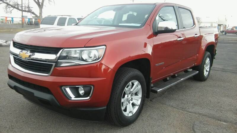 2016 Chevrolet Colorado for sale at Motor City Idaho in Pocatello ID