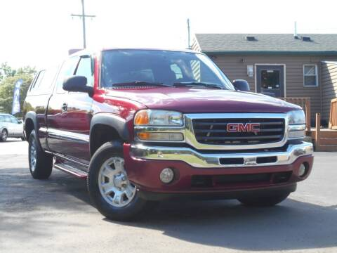 2006 GMC Sierra 1500 for sale at MT MORRIS AUTO SALES INC in Mount Morris MI