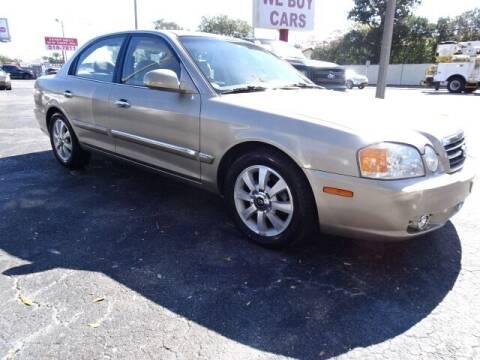 2004 Kia Optima for sale at DONNY MILLS AUTO SALES in Largo FL