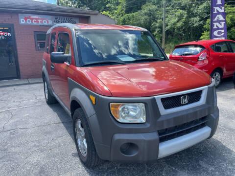 2003 Honda Element for sale at Doctor Auto in Cecil PA