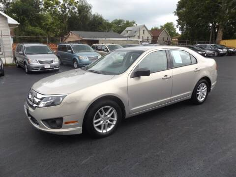 2010 Ford Fusion for sale at Goodman Auto Sales in Lima OH