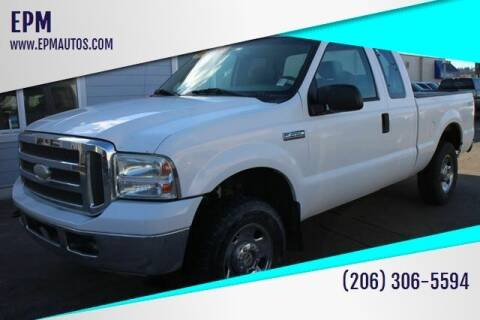 2005 Ford F-250 Super Duty for sale at EPM in Auburn WA