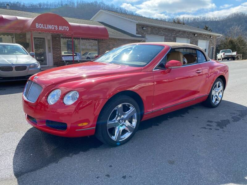 2007 Bentley Continental for sale at BOLLING'S AUTO in Bristol TN