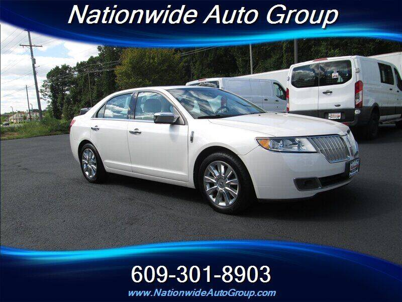 2012 Lincoln MKZ for sale at Nationwide Auto Group in East Windsor NJ