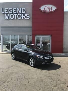 2017 Mercedes-Benz GLA for sale at Legend Motors of Detroit - Legend Motors of Ferndale in Ferndale MI