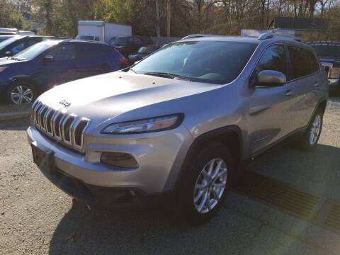 2016 Jeep Cherokee for sale at AMA Auto Sales LLC in Ringwood NJ