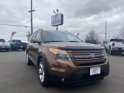 2011 Ford Explorer for sale at S&S Best Auto Sales LLC in Auburn WA