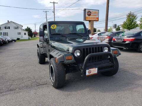 1997 Jeep Wrangler for sale at Cars 4 Grab in Winchester VA