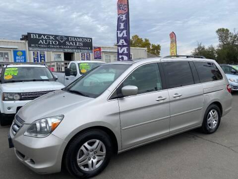 2007 Honda Odyssey for sale at Black Diamond Auto Sales Inc. in Rancho Cordova CA