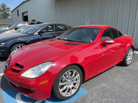 2005 Mercedes-Benz SLK for sale at Quality Autos in Marietta GA