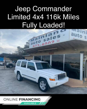 2007 Jeep Commander for sale at Mainland Auto Sales Inc in Daytona Beach FL