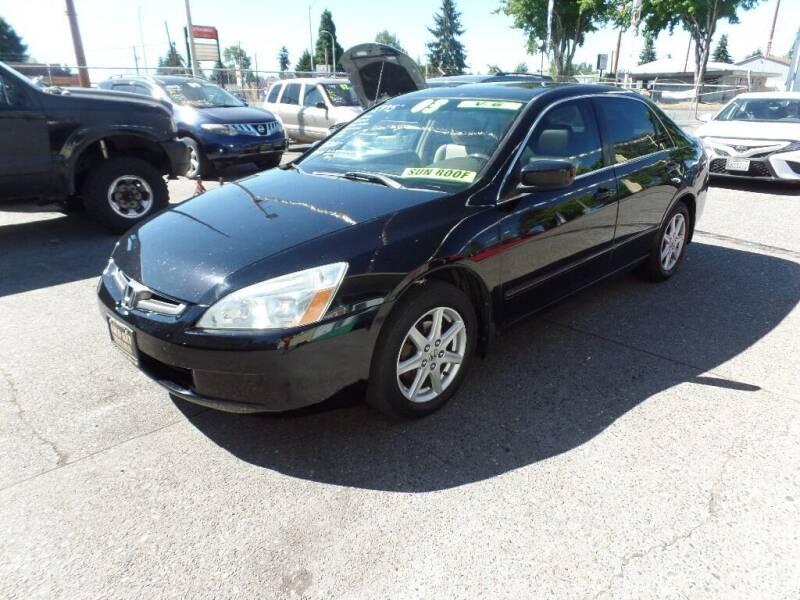 2003 Honda Accord for sale at Gold Key Motors in Centralia WA