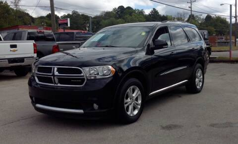 2012 Dodge Durango for sale at Morristown Auto Sales in Morristown TN