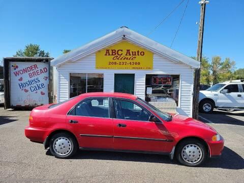 1995 Honda Civic for sale at ABC AUTO CLINIC CHUBBUCK in Chubbuck ID