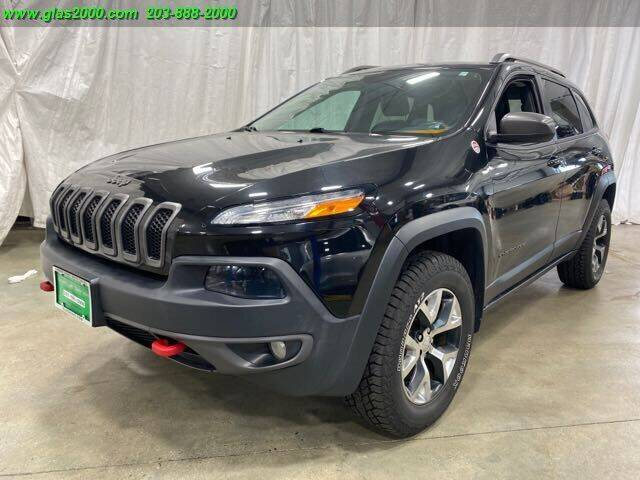2014 Jeep Cherokee for sale at Green Light Auto Sales LLC in Bethany CT
