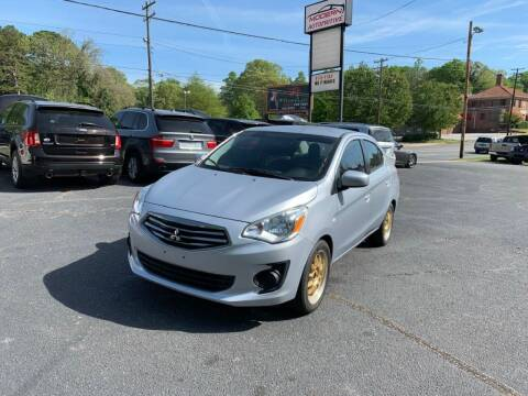 2017 Mitsubishi Mirage G4 for sale at Modern Automotive in Boiling Springs SC