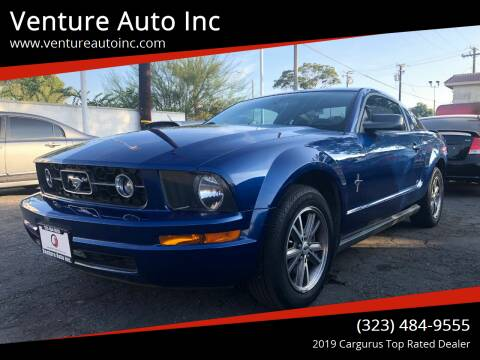 2007 Ford Mustang for sale at Venture Auto Inc in South Gate CA