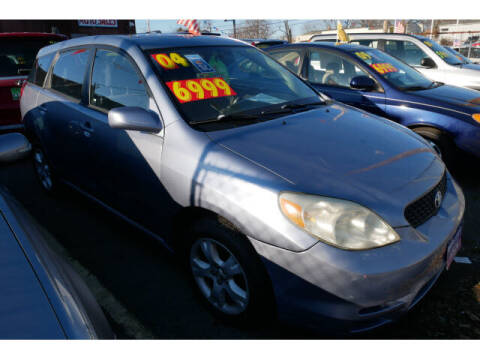 2004 Toyota Matrix for sale at MICHAEL ANTHONY AUTO SALES in Plainfield NJ