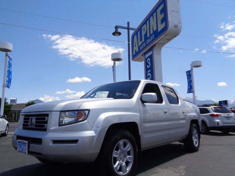 2006 Honda Ridgeline for sale at Alpine Auto Sales in Salt Lake City UT
