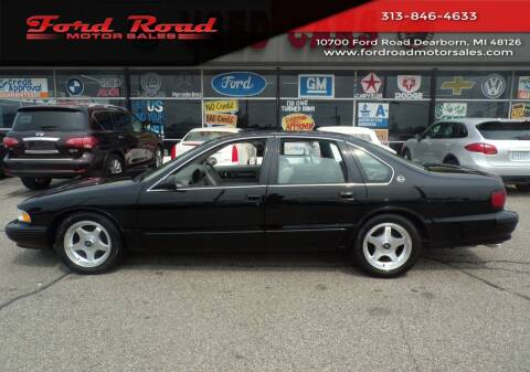 1996 Chevrolet Impala for sale at Ford Road Motor Sales in Dearborn MI