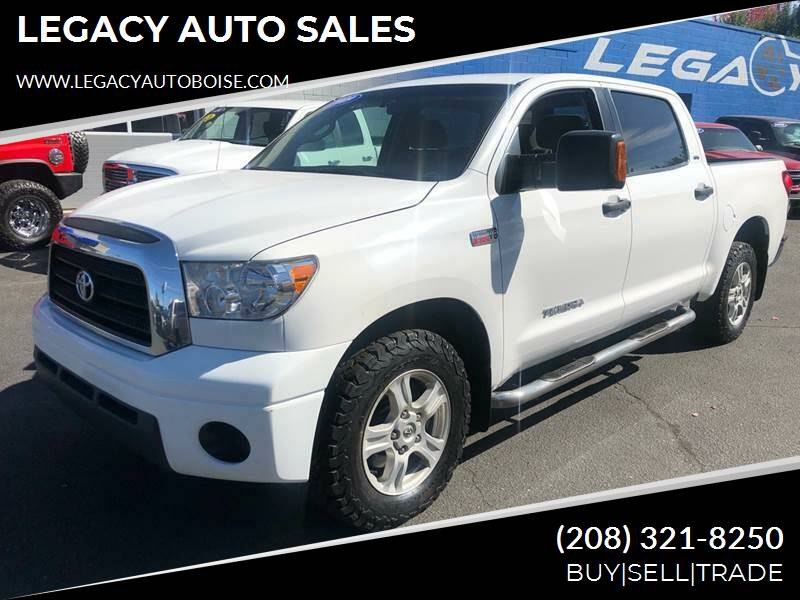 2009 Toyota Tundra for sale at LEGACY AUTO SALES in Boise ID