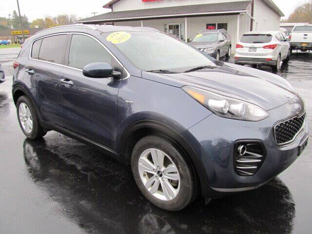 2019 Kia Sportage for sale at Thompson Motors LLC in Attica NY