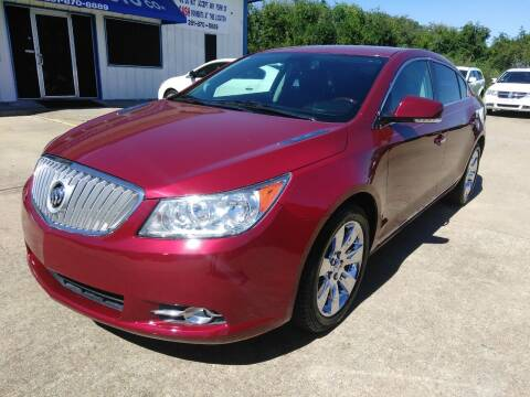 2010 Buick LaCrosse for sale at Discount Auto Company in Houston TX